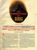 Buy The Persecution <br/> Of Barry Bonds